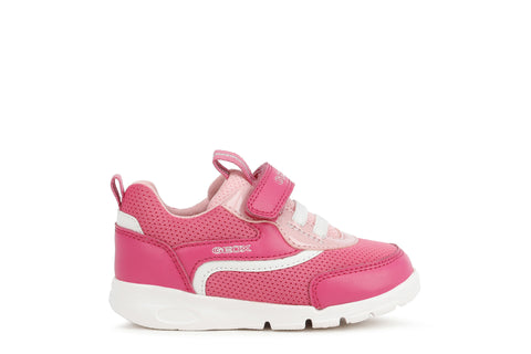 Geox Runner Trainer - Pink & White