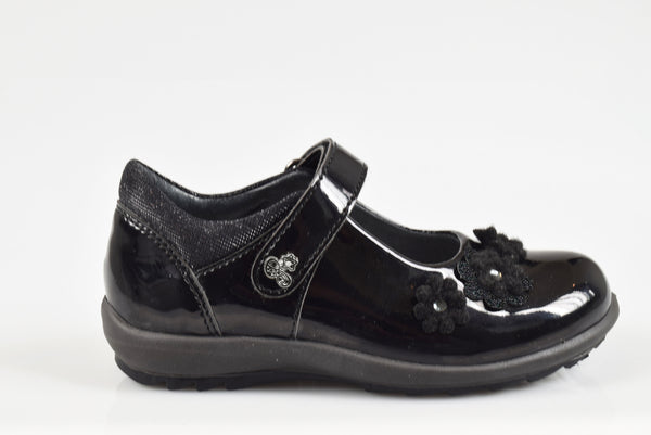 Primigi Girls Patent School Shoe