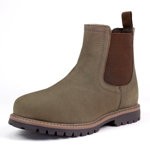 Term Grey Chelsea Boot