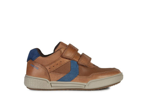 Geox Poseido Leather Sports Shoe