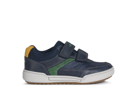 Geox Poseido Leather Trainer