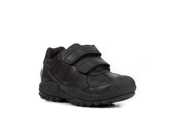 Geox New Savage Boys Leather School Shoe