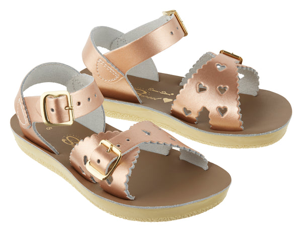 Salt Water Sandals - Sweetheart Rose Gold