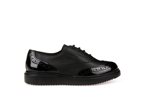 Geox Thymar Girls Leather Schol Shoe