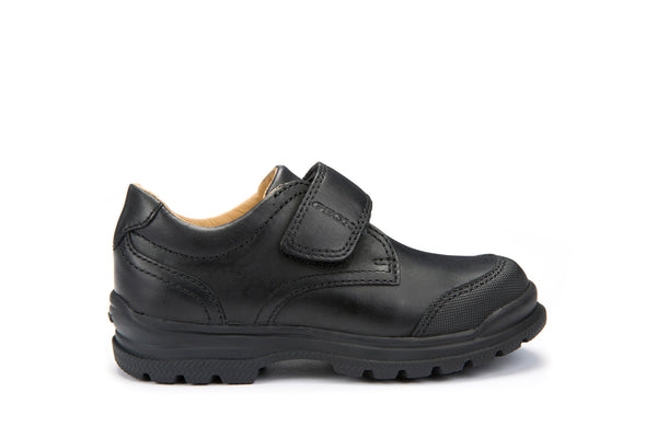 Geox William Boys Leather School Shoe