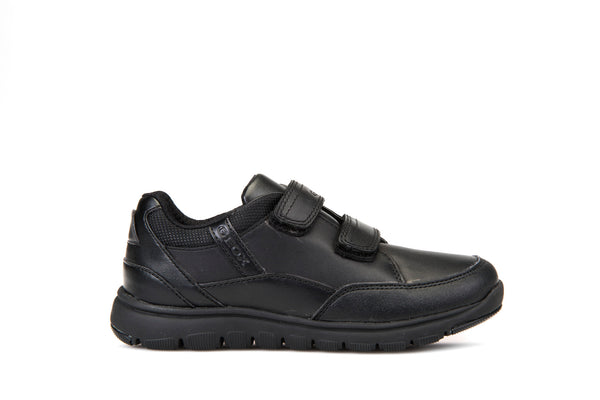 Geox Xunday Boys Leather School Shoe