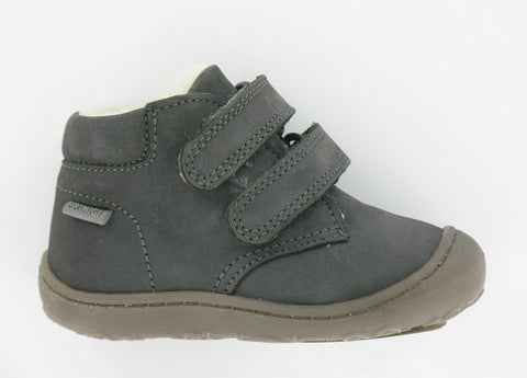 Primigi Nubuck Leather Wool Lined Ankle Boot