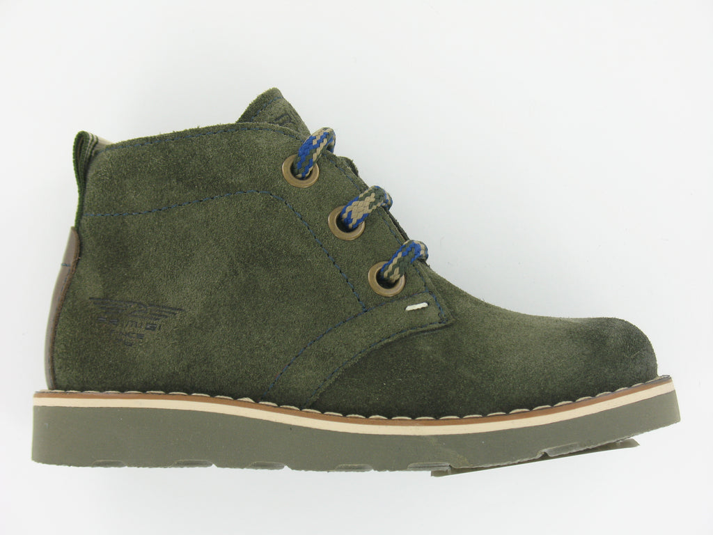 Primigi Forest Green Suede Desert Boot