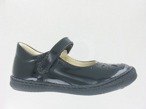 Primigi Black Patent School Shoe