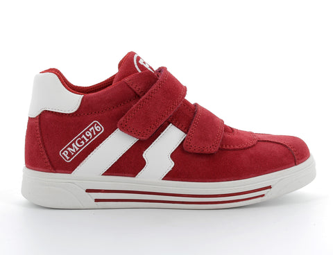 Primigi Red Suede Sports Shoe