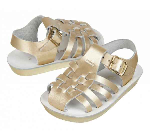 Salt Water Sandals - Sailor Gold