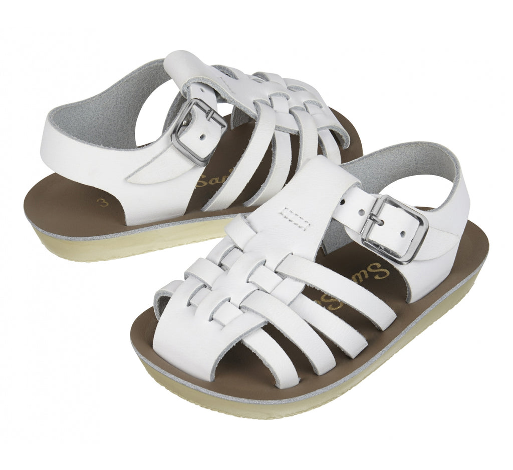 Salt-Water Sandals - Sailor White