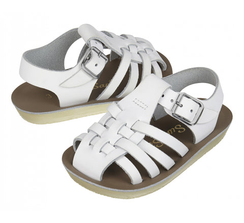 Salt Water Sandals - Sailor White