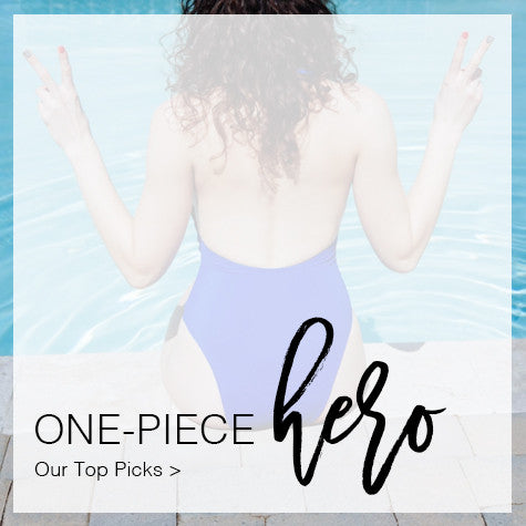 One-piece bikinis