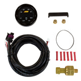 AEM 30-0301 X-SERIES OIL/FUEL PRESSURE GAUGE 100PSI 7BAR W/ WHITE FACE KIT