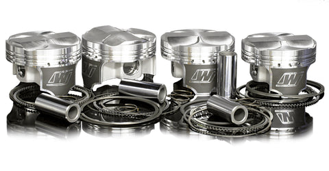 WISECO PISTONS SUBARU EJ25 2.5L 16V DOHC Imprezza RS, Forrester and Legacy