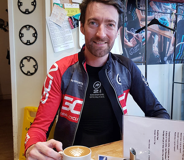 Coffee with Dan Lloyd, ex pro and GCN presenter