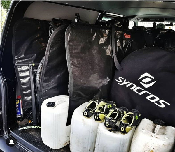 Nick Craig shows us how t pack a van for cycling!