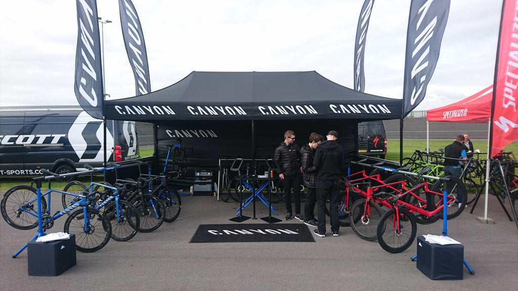 Canyon Bikes - Fassa Cycling Products - Customer Test Ride Day