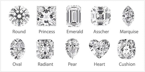 choose diamond stone shape
