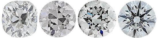 DIFFERENT ROUND CUT DIAMONDS