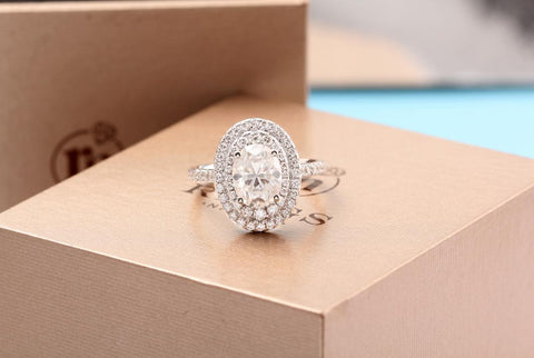 oval diamond white gold ring zavandi