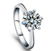 Engagement Ring CZ-4150W