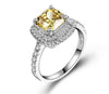 Engagement Ring CZ-4149W
