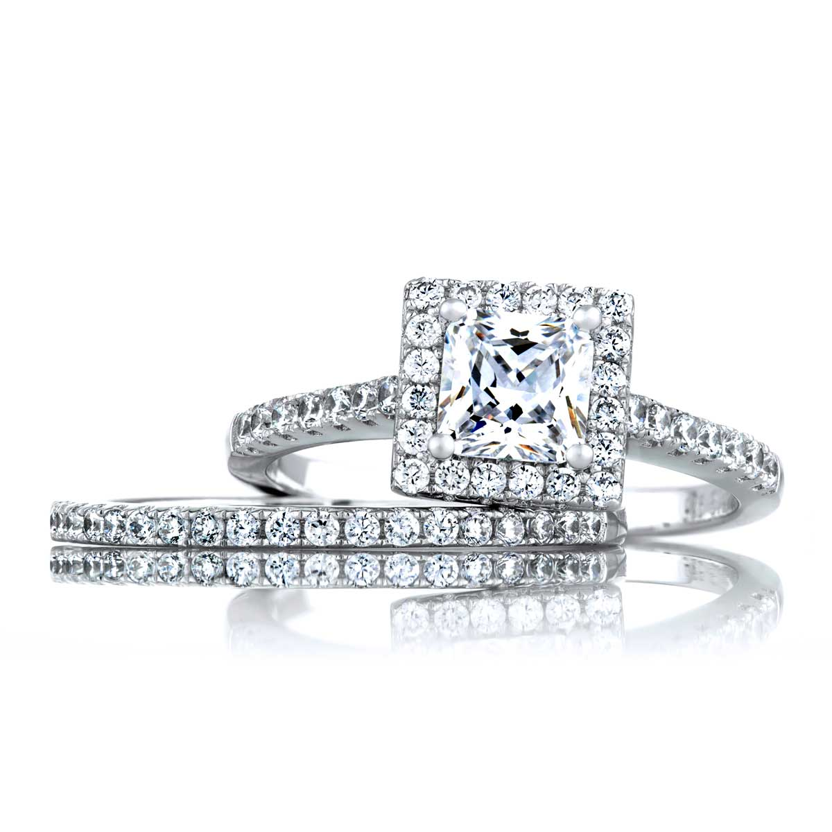 CZ BRIDAL SETS RINGS NIGERIA