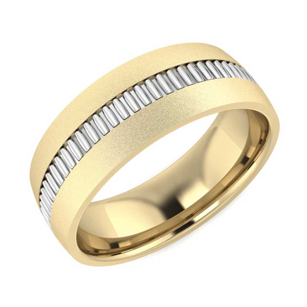 bands with titanium tension band split ring mens edward mirell rings set diamond