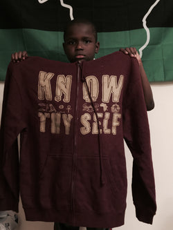 Know thy self/Pharaoh Zip up hoodie