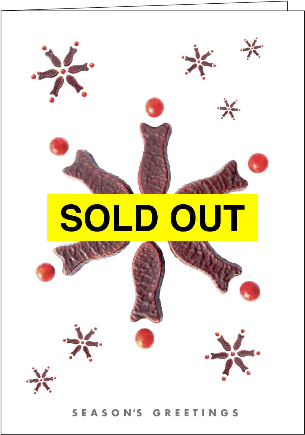 NZ006 Snow Fish - SOLD OUT