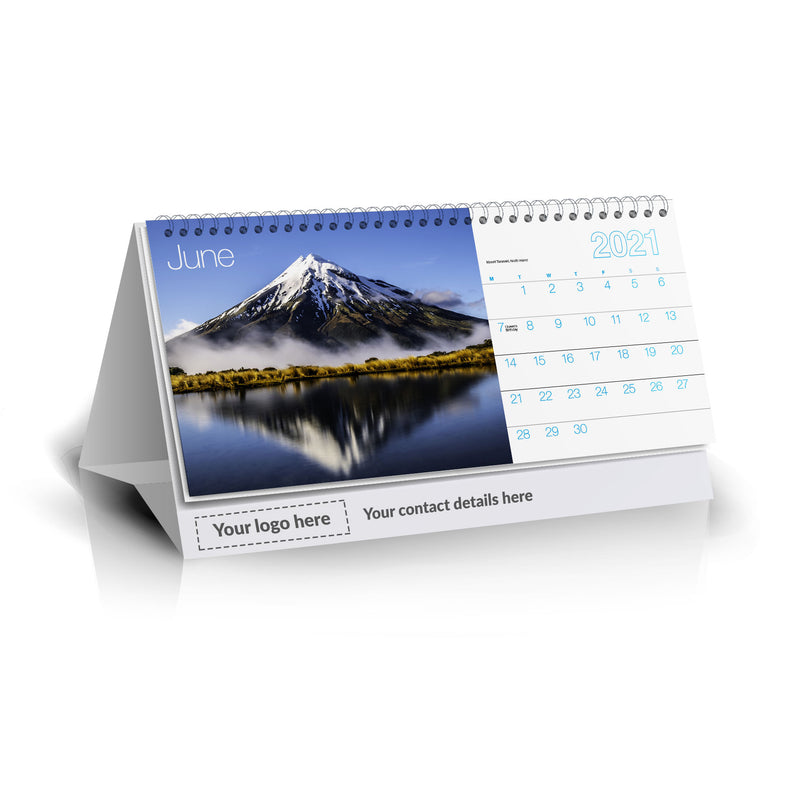 Starship Desk Calendar - DESKCAL21