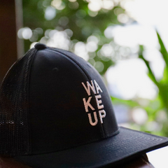 WAKEUP Solid Flex-Fit Hat