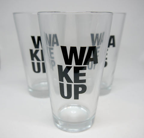 Glass Tumbler - The WAKEUP Company