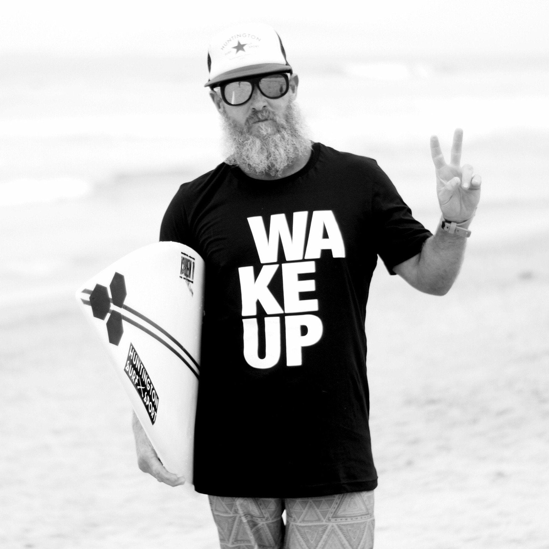 The Original Men's WAKEUP Tee - Black - The WAKEUP Company
