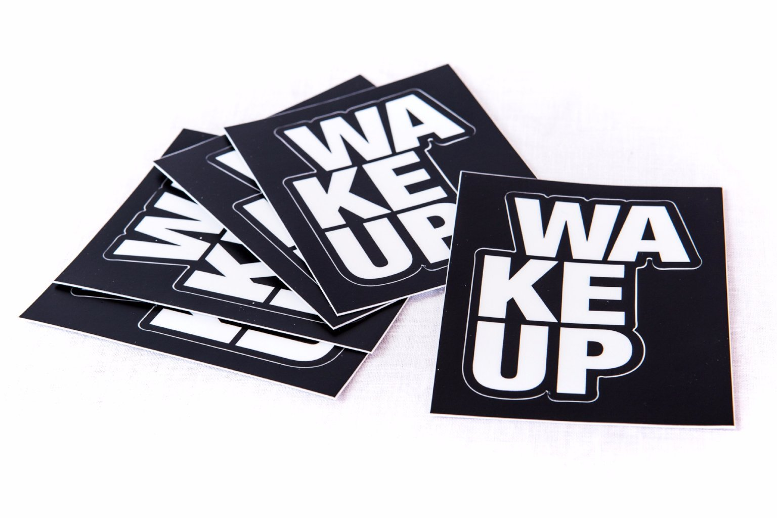 WAKEUP Cut Out Sticker Pack - The WAKEUP Company