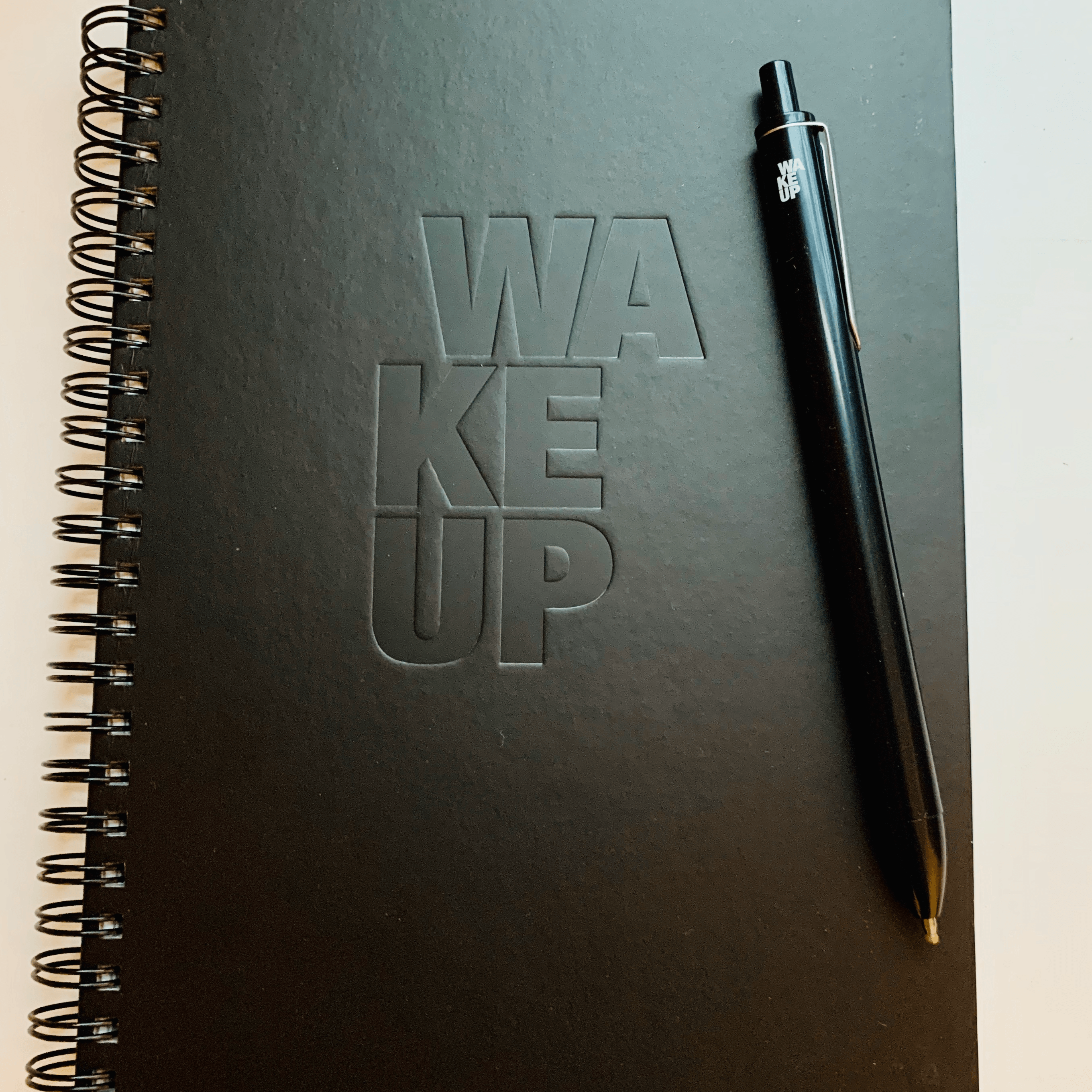 WAKEUP Spiral Notebook Package - The WAKEUP Company