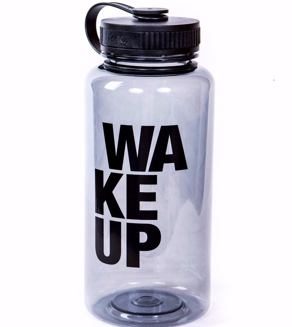 Water Bottle - Sports Cap - The WAKEUP Company