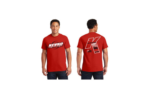 "Kevko Red ""K"" T-Shirt"