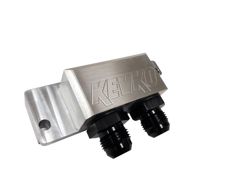 K90551 <BR>90 Degree Billet Fitting Adapter