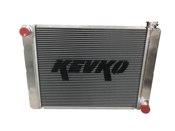 Single Pass<br>Aluminum Radiator