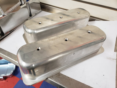 4.3 Liter V6 Billet Valve Covers