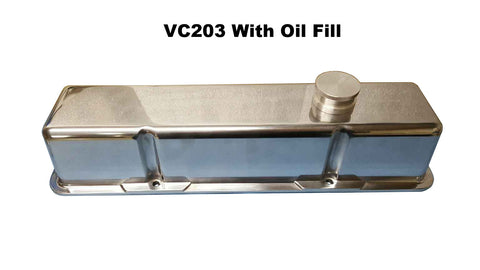 VC203 RIGHT<br>SBC Polished Aluminum
