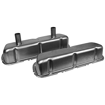 VC210 <br> Ford Raw Steel Circle Track Valve Covers