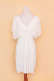 White nightgown on bodyform