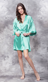 *SALE* Satin Robe