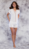 *SALE* Ultra Soft Bamboo Lace Pajama Set