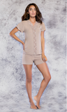 Ultra Soft Bamboo Lace Pajama Set
