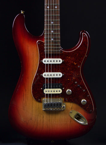 USA Custom Glendora Aged Cherry Sunburst